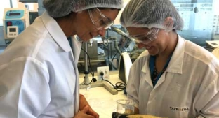 Tate & Lyle staff in lab